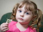 Meet the four year old girl with an addiction to eating SPONGE