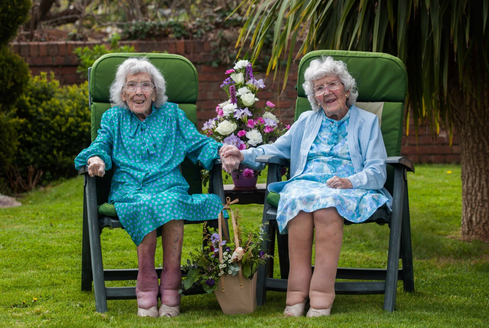 100-year-old twins share their secret to a long life
