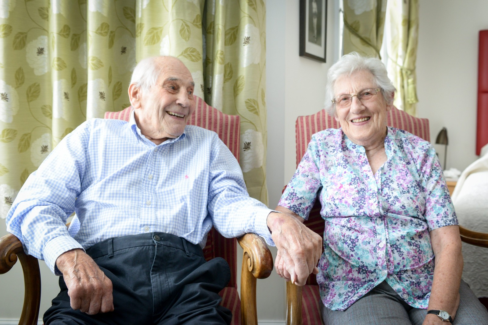 Couple will be become Britain's oldest newly-weds after elderly kids insist they marry