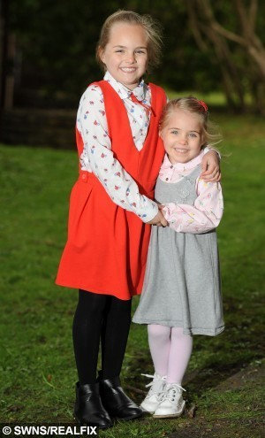 """Pictured -  Tienna Cooper (7) and Ziani Cooper (4). Tienna and Ziani are supporting their dad Tom Copper through his terminal cancer by preparing to raise money for cancer charity.See Ross Parry copy RPYSISTERS : These gorgeous girls have become a rock for their dying dad after he diagnosed his own cancer on GOOGLE.  Brave sisters Tienna, seven, and Ziana, four, have rallied round father Tom Cooper since he spotted the signs of Nasopharyngeal Carcinoma online. Sadly, despite numerous rounds of chemo and radiotherapy, heÕs been told his condition is terminal, and his family from Burnley, Lancs., now face an anxious wait to see how quickly his health deteriorates.  His wife Tammy, 25, said: ÒTom is the most selfless man I know, heÕs been so brave and courageous throughout his fight and despite the shock, heÕs still smiling. Thomas Temple/rossparry.co.uk Pictured -  Tienna Cooper (7) and Ziani Cooper (4). Tienna and Ziani are supporting their dad Tom Copper through his terminal cancer by preparing to raise money for cancer charity.See Ross Parry copy RPYSISTERS : These gorgeous girls have become a rock for their dying dad after he diagnosed his own cancer on GOOGLE.  Brave sisters Tienna, seven, and Ziana, four, have rallied round father Tom Cooper since he spotted the signs of Nasopharyngeal Carcinoma online. Sadly, despite numerous rounds of chemo and radiotherapy, he's been told his condition is terminal, and his family from Burnley, Lancs., now face an anxious wait to see how quickly his health deteriorates.  His wife Tammy, 25, said: """"Tom is the most selfless man I know, he's been so brave and courageous throughout his fight and despite the shock, he's still smiling. Thomas Temple/rossparry.co.uk"""