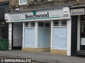 Pictured is the Beechwood estate agents owned by Corrupt estate agent Helen Gregory has been jailed after she swindled #67,000 from tenants and newlyweds and pumped the ill-gotten gains into her failing business. See Ross Parry copy RPYSWINDLE : Helen Gregory, 55, was investigated by Trading Standards after complaints from tenants who had not received their deposit money back.  Following the investigation, Gregory admitted three charges of engaging in unfair commercial practices in August last year.  At the time the estate agent - who owned agencies which operated in the Peaks, Dales, and Chesterfield - reassured the court that she would repay the #67,000 to identified victims.  But Gregory, of Chesterfield, Derbys., has now been jailed for ten months after not paying back a single penny - despite #45,000 being paid to her by another business in December 2014 and January this year.  The court heard instead of giving the money to creditors, as promised, Gregory immediately transferred the funds into her partnerÕs account - who then bought the couple a #25,000 Jaguar car, the court heard. Pictured is the Beechwood estate agents owned by Corrupt estate agent Helen Gregory has been jailed after she swindled #67,000 from tenants and newlyweds and pumped the ill-gotten gains into her failing business. See Ross Parry copy RPYSWINDLE : Helen Gregory, 55, was investigated by Trading Standards after complaints from tenants who had not received their deposit money back.  Following the investigation, Gregory admitted three charges of engaging in unfair commercial practices in August last year.  At the time the estate agent - who owned agencies which operated in the Peaks, Dales, and Chesterfield - reassured the court that she would repay the #67,000 to identified victims.  But Gregory, of Chesterfield, Derbys., has now been jailed for ten months after not paying back a single penny - despite #45,000 being paid to her by another business in December 2014 and January this year.  The court heard instead of giving the money to creditors, as promised, Gregory immediately transferred the funds into her partner's account - who then bought the couple a #25,000 Jaguar car, the court heard.