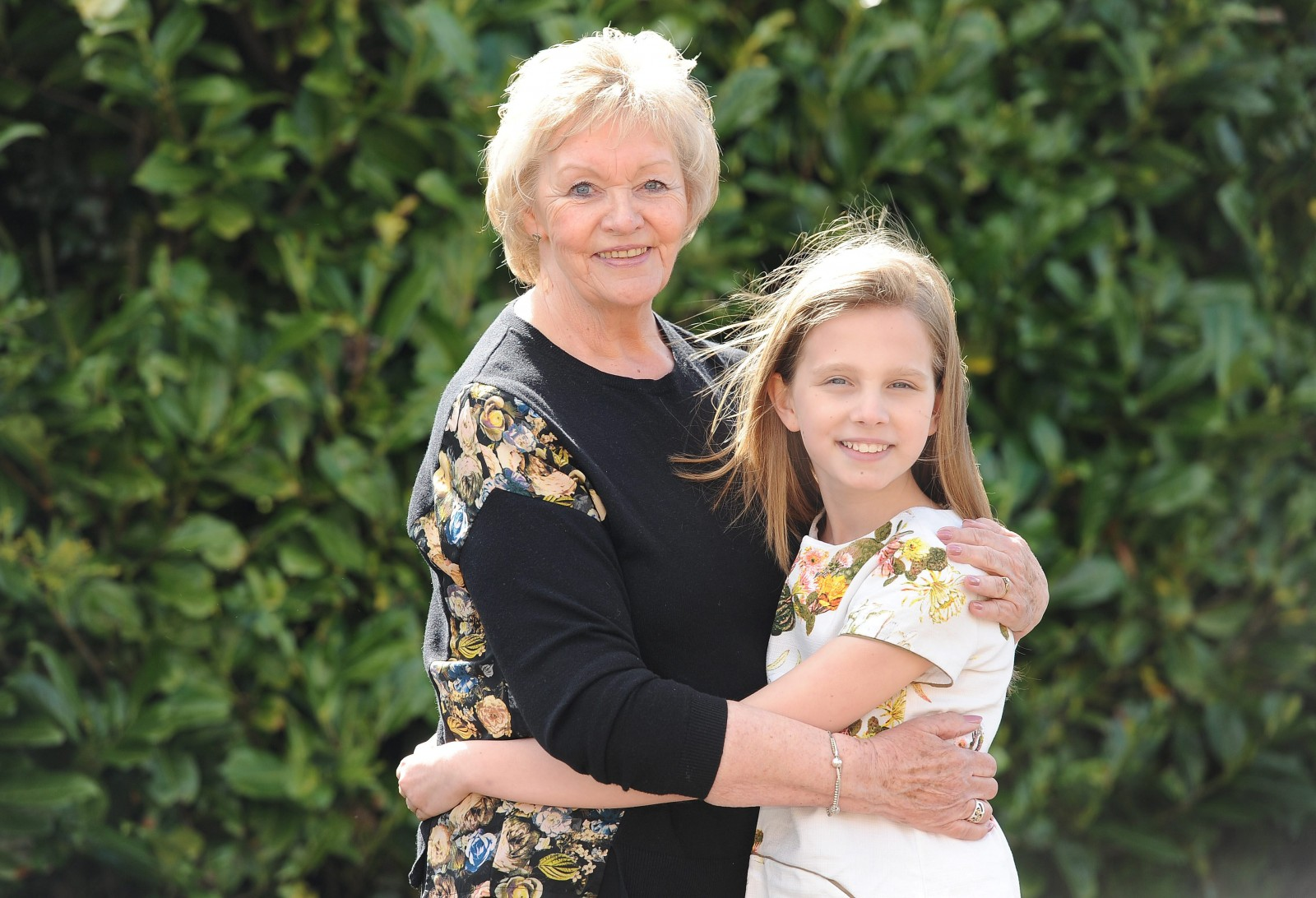 The incredible granny who diagnosed her granddaughter's rare cancer with a HUG