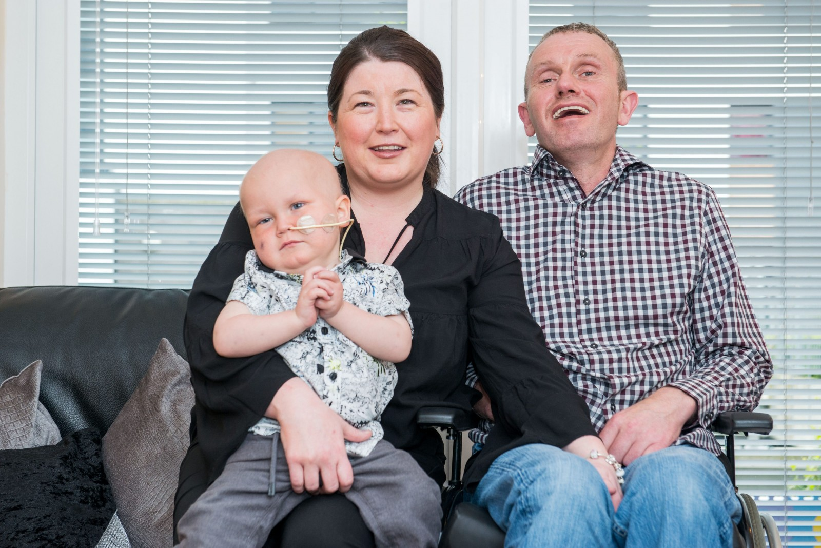 'We won't give up on him.' A desperate family's fight to stay together and save their dying son