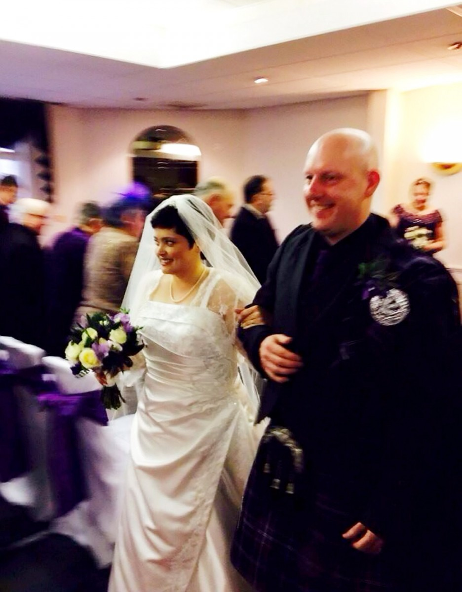 The heart-breaking secret this brave couple revealed to guests on their special wedding day