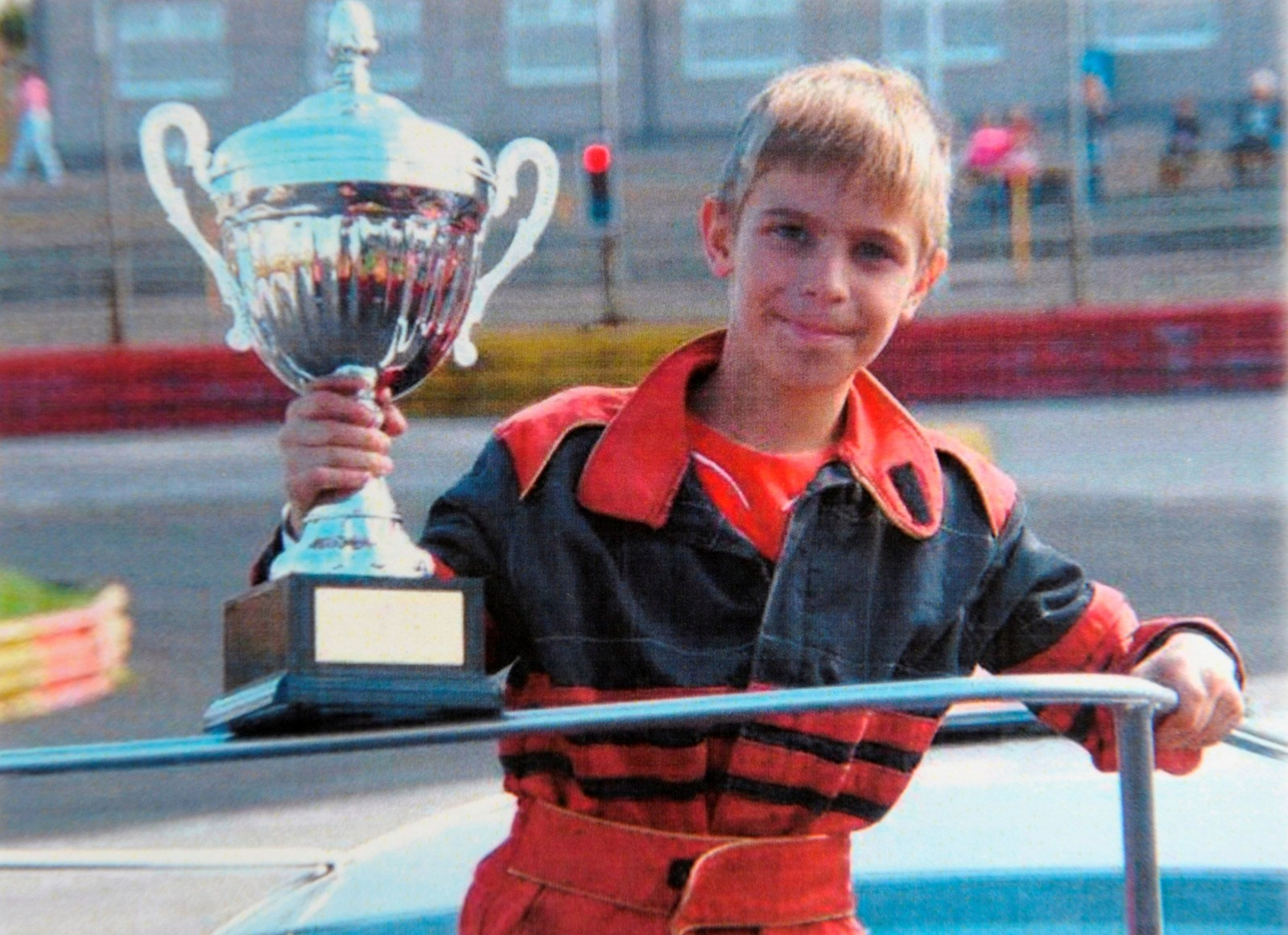 Race in Peace. Hundreds gather to say goodbye to talented 11 year old racing driver