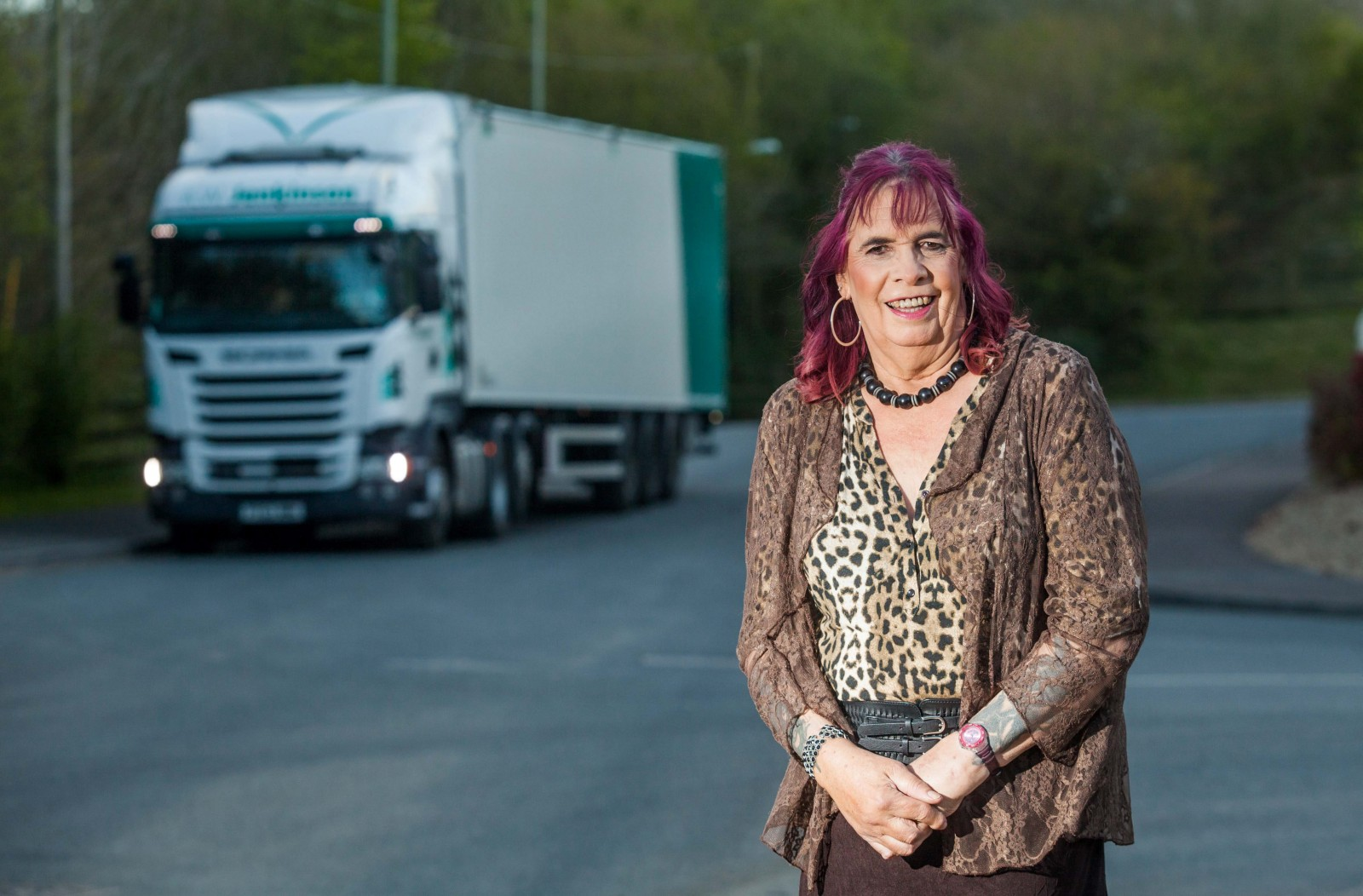The three-times married truck driver with a 40 year secret that shocked colleagues