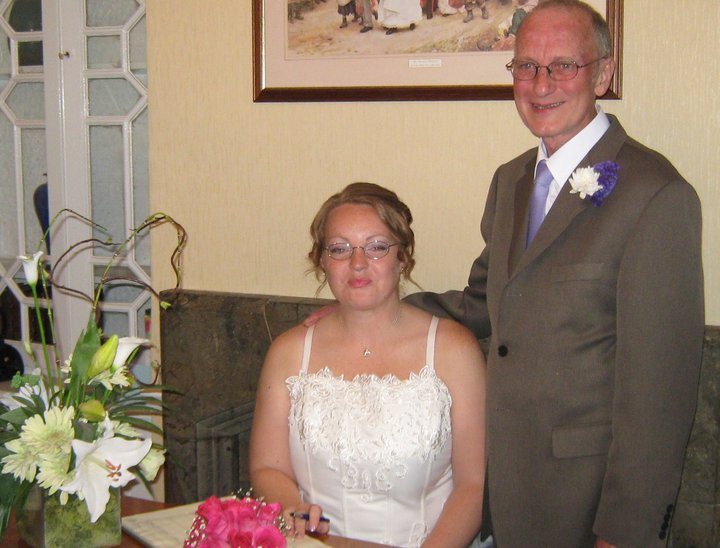 The surprise wedding for 40 year age-gap couple who tried hard to ignore the stares
