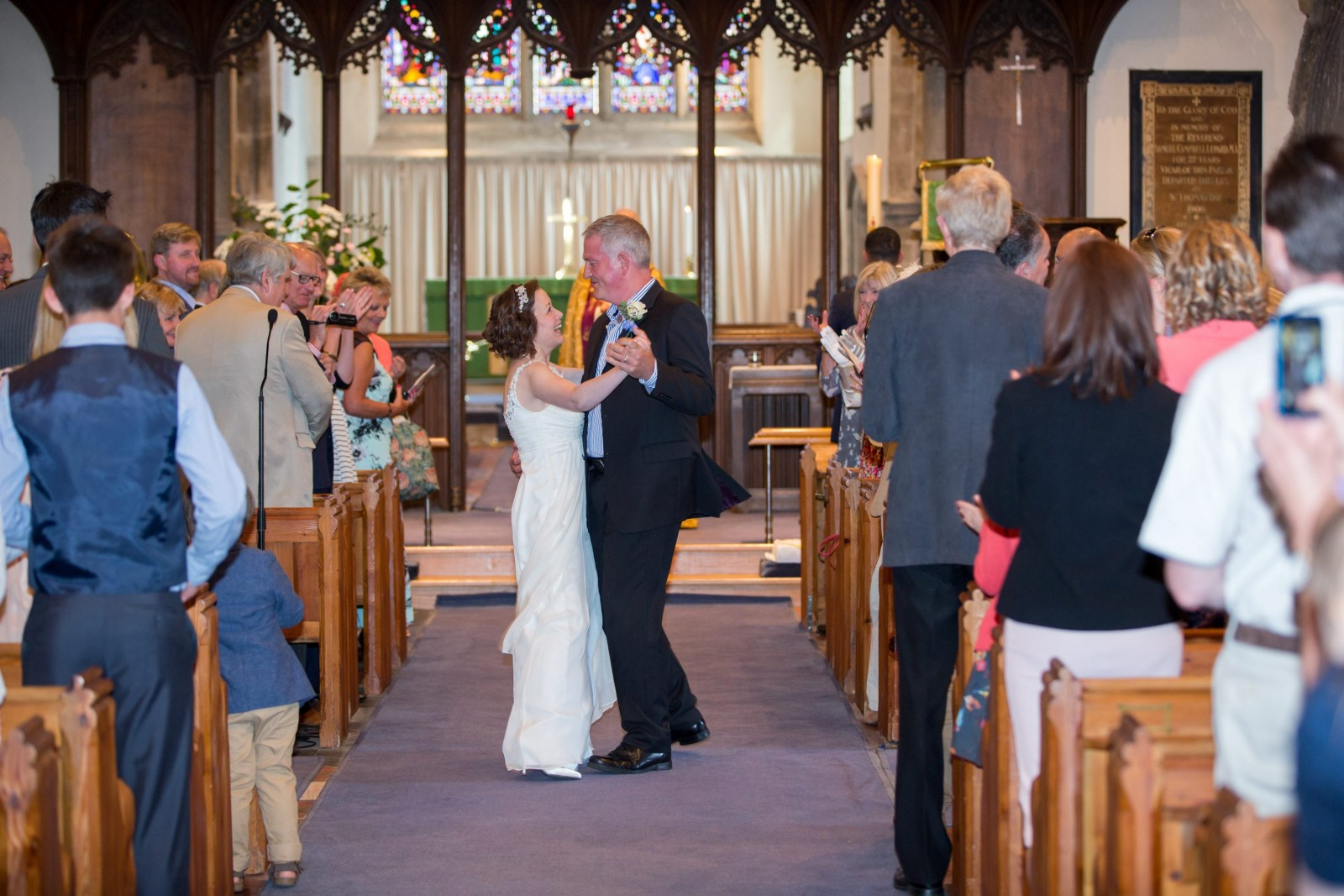 Bride renews vows two years after surviving 'death-bed wedding'