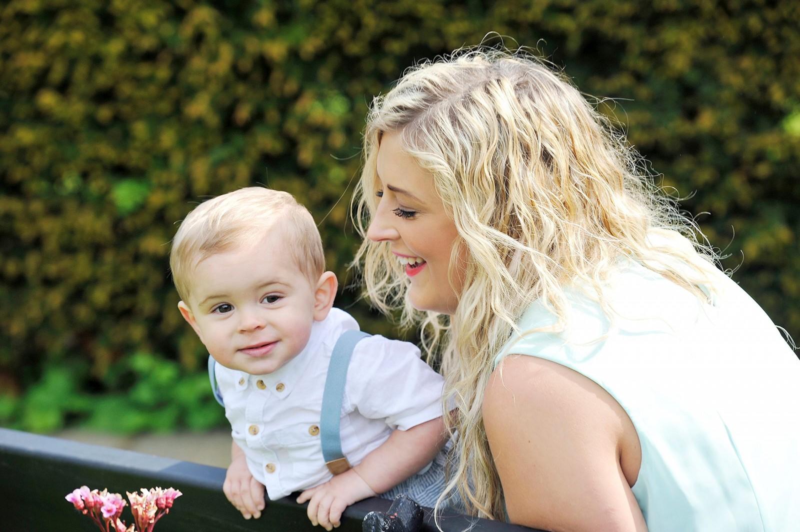 Gorgeous Noah is a Prince George look-a-like!