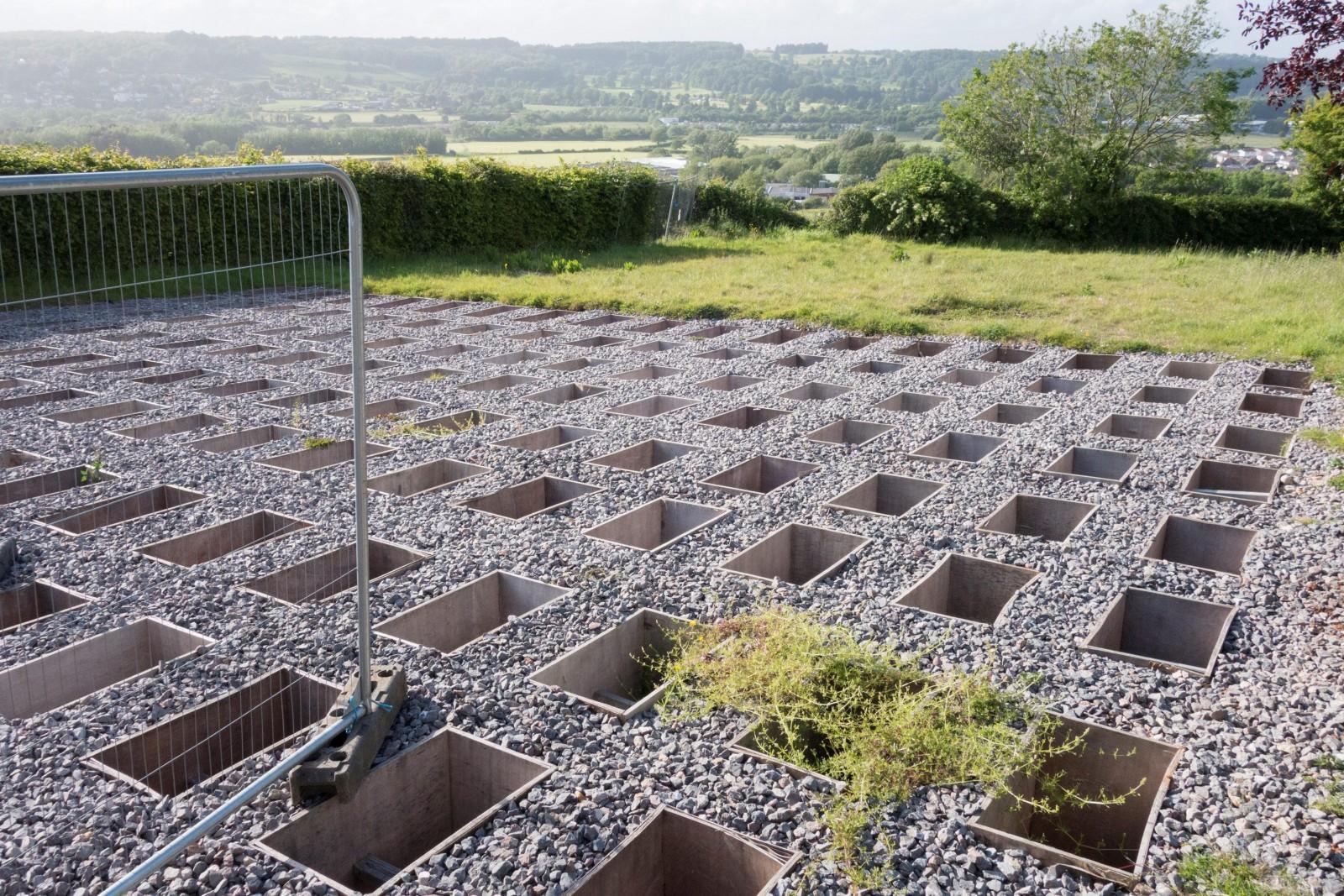 Sickening sight of tiny empty graves causes mum of stillborn baby further anguish