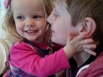 My hero! Quick thinking by big brother saves the life of his toddler sister