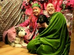 Barking mad! These two dogs will be together fur-ever after getting hitched