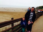 Dad-of-three reunited with something very special – thanks to a sandcastle!