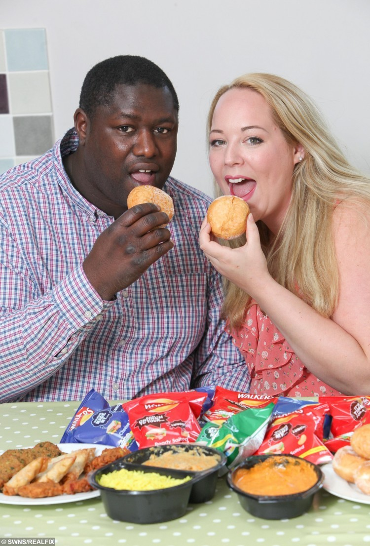 Isabella and Chris Wray from Edgbaston, Birmingham.  A morbidly obese couple who tip the scales at almost 600lbs between them have spent their life savings on matching gastric bands – because the NHS didn't make them FAT.  See SWNS story SWFAT.  Isabella and Chris Wray realise they are the only people to blame for their expanding waistlines, thanks to a gut-busting diet of takeaways and multiple breakfasts, and decided to spend £10,000 on private weight-loss ops – because they don't want the taxpayer to pay.  Proud Isabella, 31, does not think it is right for the NHS to fund their operations, because the taxpayer did not make them fat in the first place.  Isabella, who tips the scales at 19-and-a-half stone, and 41-year-old hubby Chris, who weighs in at a whopping 21-and-a-half stone, will go under the knife next month at a private hospital near their home in Birmingham.