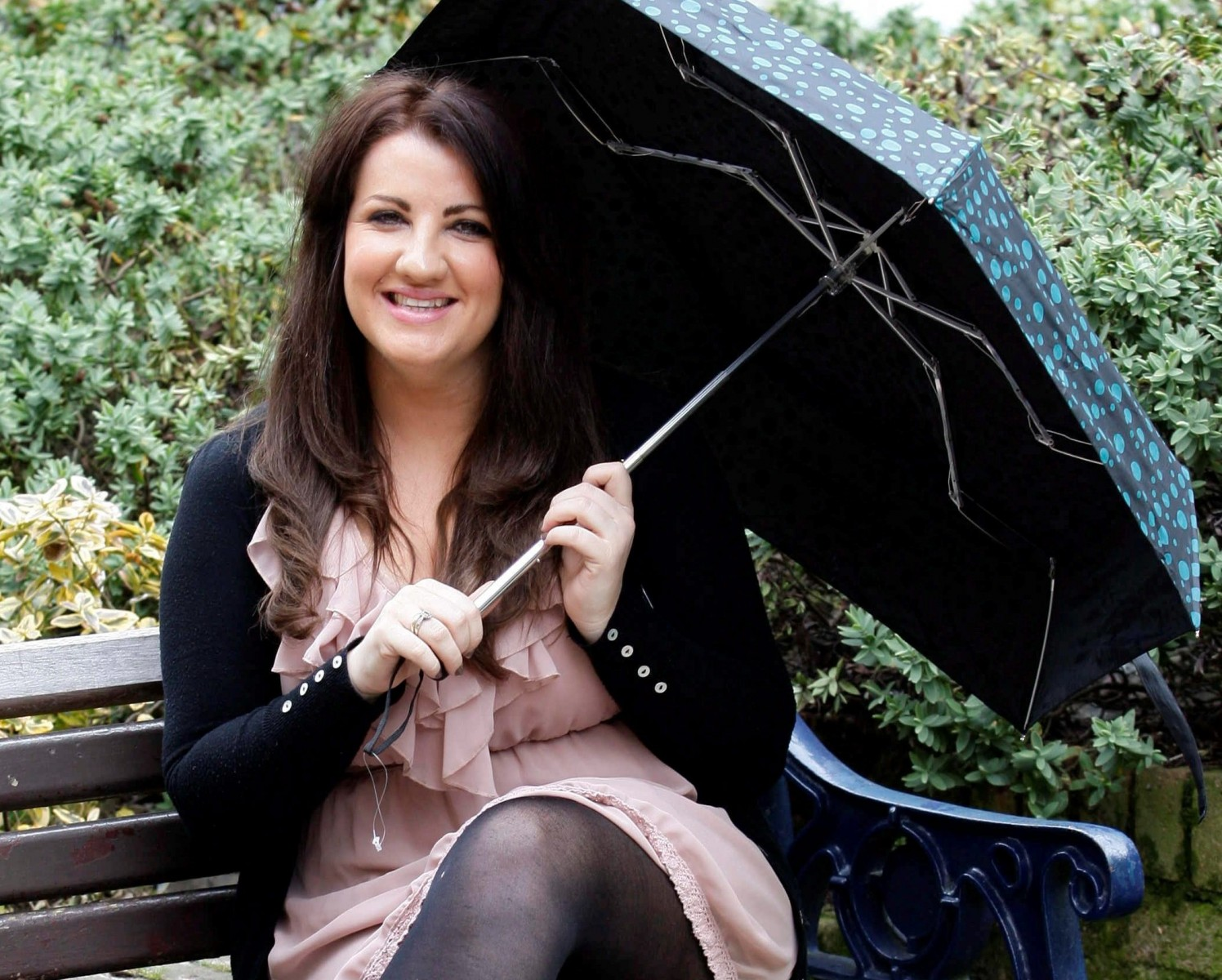 Shock Pic! Tipsy night out ends with woman's face impaled on a BROLLY