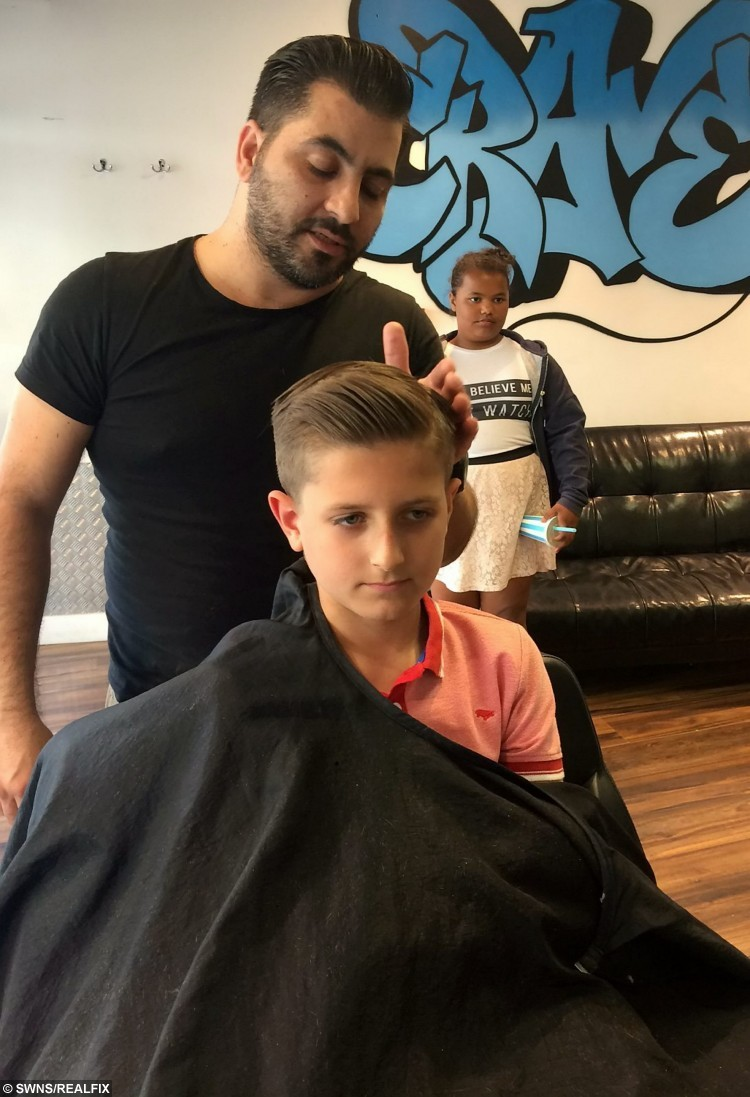 A school boy has cut his hair for the first time in his life to raise money for charity and make wigs for cancer victims.  See MASONS story MNHAIR.  Rahim Woods has raised more than Ã1,500 after deciding to shed his 3ft head of hair which reached his knees.  As he is starting secondary school in September he and his family decided it was time for a change - but they knew they would have to do something special.  After discussing what to do with his parents and siblings Rahim decided he would lop off his locks to raise money for the The Thomas Ball ChildrenÃs Cancer Fund.  The initial target was set at Ã500 on his Just Giving page but within three days donations had come pouring in and he has now raised Ã1565.   Friends and family attended the event at The Eden Centre shopping centre in High Wycombe where Rahim took to the chair to face the scissors.