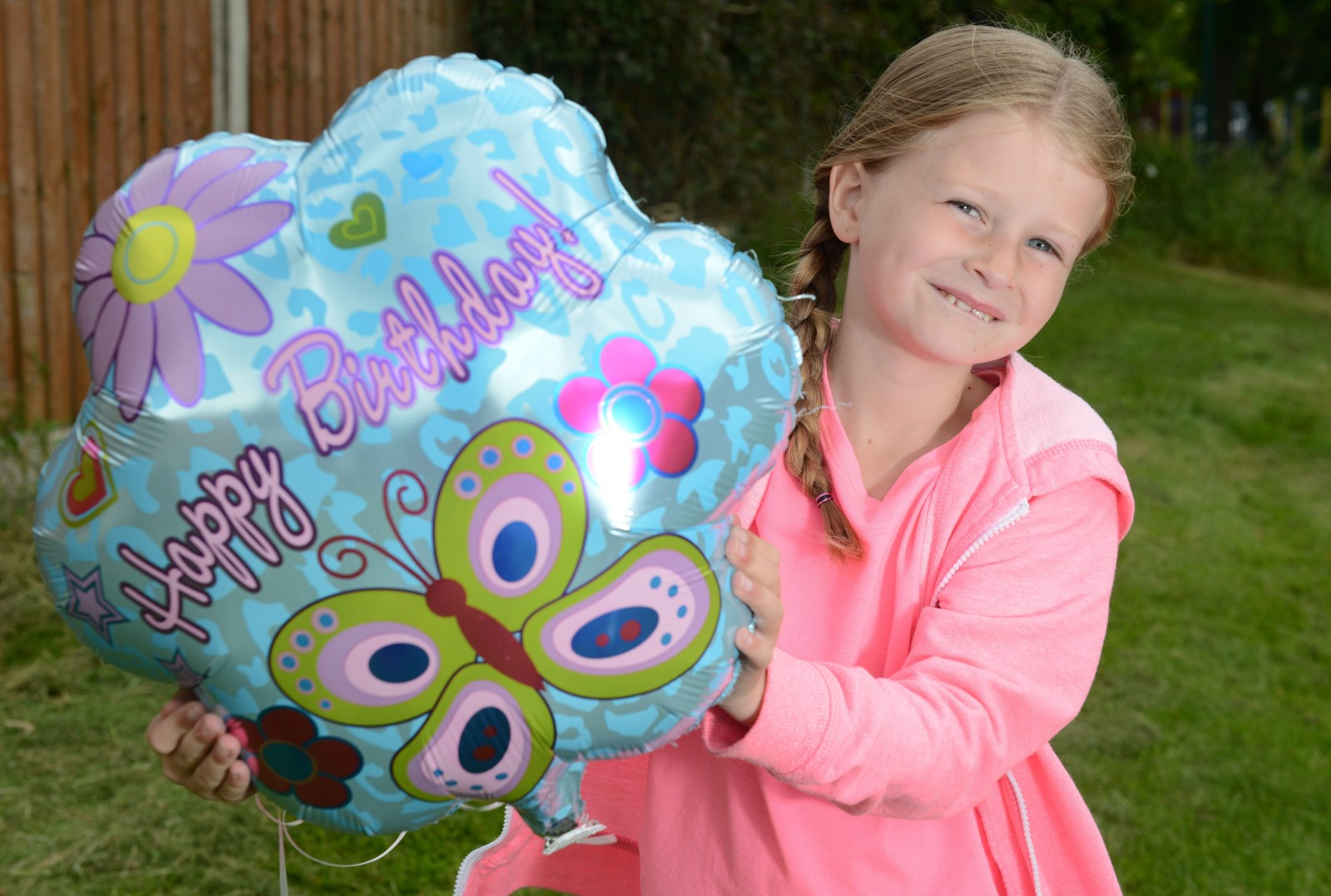 A £1 balloon with a message inside travelled 900 miles to GERMANY after little Lilly let it go in her garden