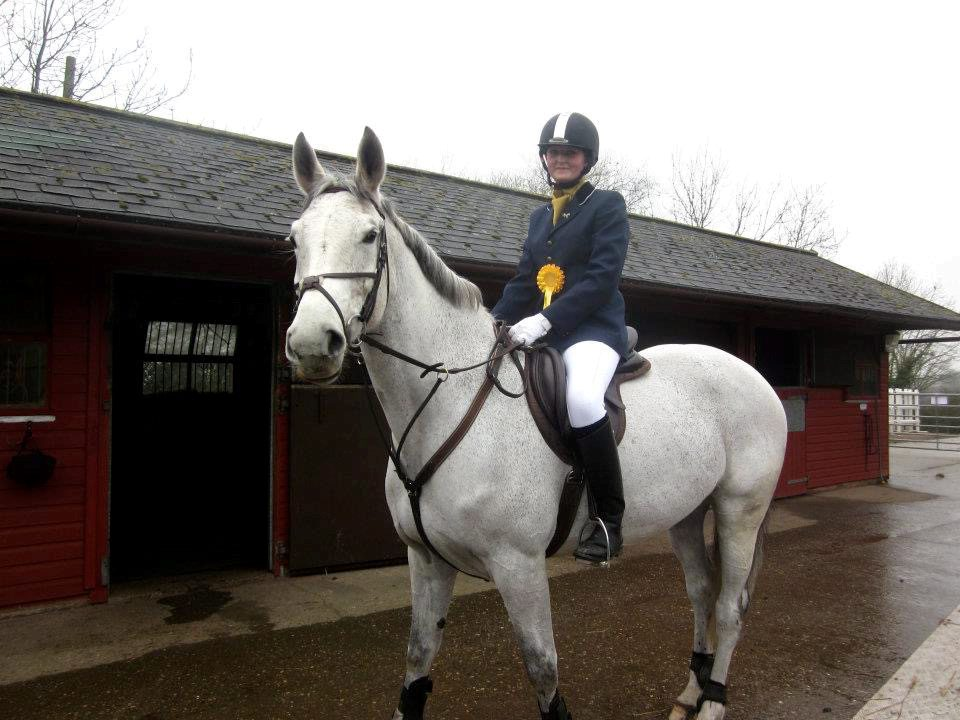 Young horse rider owes her life to a pair of JODHPURS