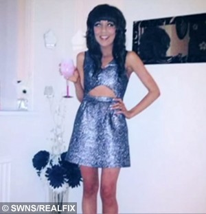 Pictured is Shannon at her lowest weight of 6 stone. See SWNS story SWSTARVE: A teen anorexic has told how she nearly starved herself to death – in a desperate bid to get treatment from the NHS. Shannon Finan, from Coventry, was 18 when she begged her GP for help after she dropped from 9st to 7st to 7st in just two months - weighing just 6st within the year. But because her Body Mass Index didn't meet NHS guidelines, the sick teen was turned away. Shannon, now 21 and in recovery, has told how she suffered with anorexia and bulimia in a short documentary produced by Fixers – the charity that gives young people a voice. 21 July 2015