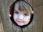 Help Evie Eat! The two-year-old girl with a phobia so crippling she needs a feeding tube