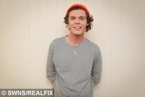Aron Dale from Middlesbrough who is convinced he is a Harry Styles look-a-like. See SWNS story SWONE; A student who quit university to become a Harry Styles lookalike is seemingly headed in the wrong direction -- after only bagging six jobs in a YEAR. Aron Dale, 25, claims he can't go shopping without being mobbed by screaming fans who think he really is the floppy-haired One Direction singer. He reckons when he goes out wearing Harry's trademark skinny jeans he can't move for autograph hunters - and he can't have a girlfriend because they simply get too jealous. But despite packing in his university engineering course to be the 1D heartthrob full time he has only clinched six jobs in more than a year - mostly at children's parties.