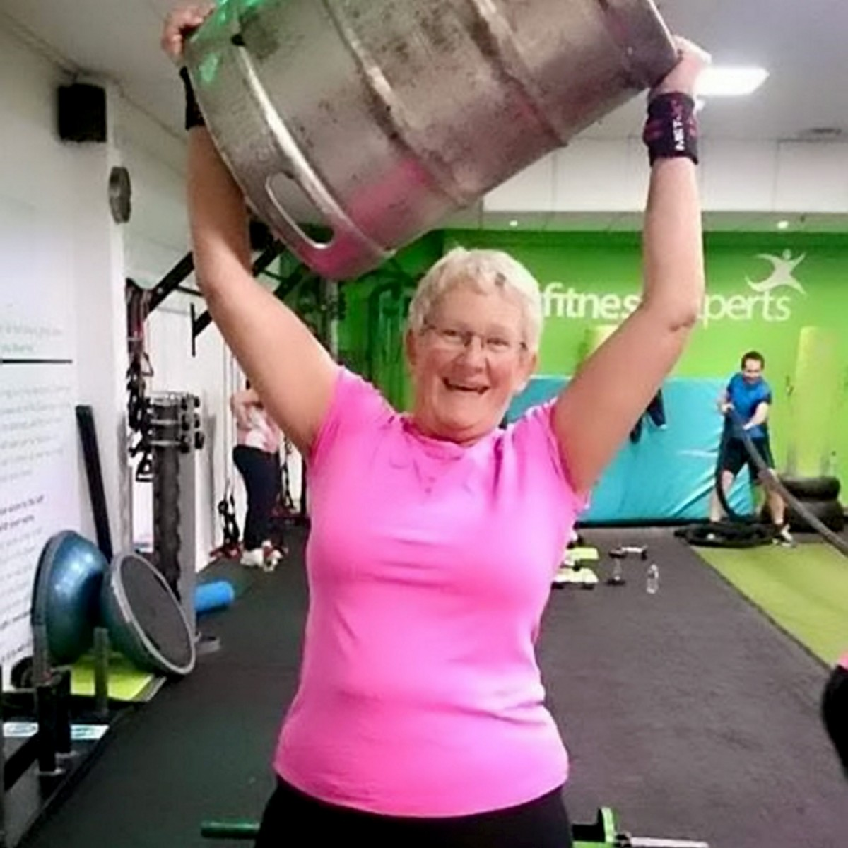 'I'm the oldest in the gym!' Proof it's never too late to get into shape