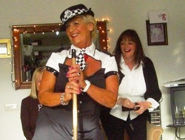 Britain's sexiest nan loves dressing up in leather outfits and partying until dawn
