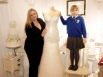 You won't believe what this amazing wedding dress is made out of!