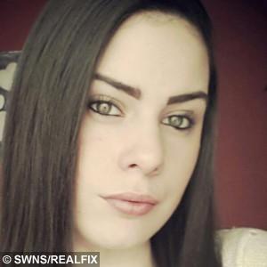 Emma Pinches who was victim of underwear thief Mark Cox, 22