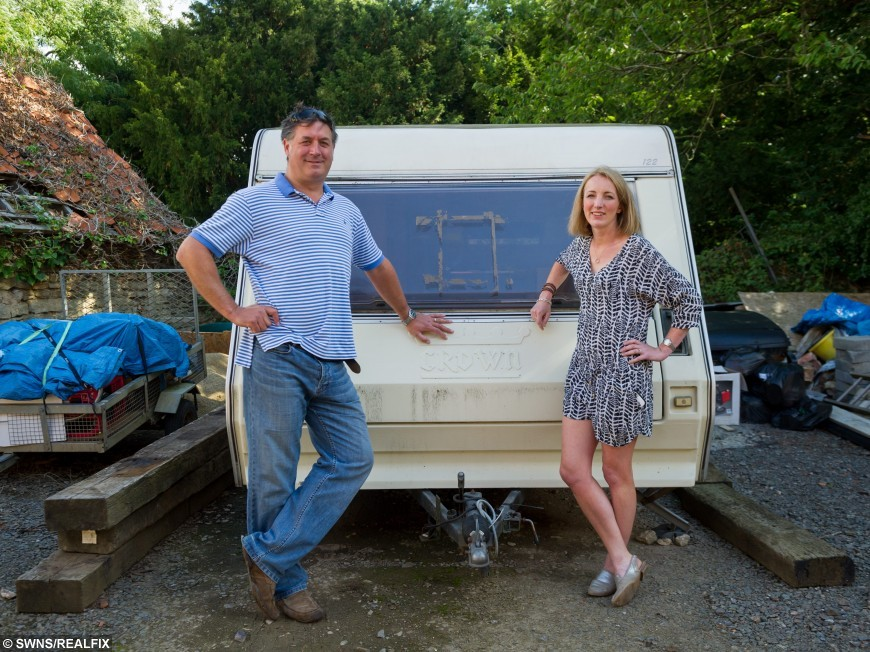 Find Out Why This Old Caravan Has Got Everyone Talking