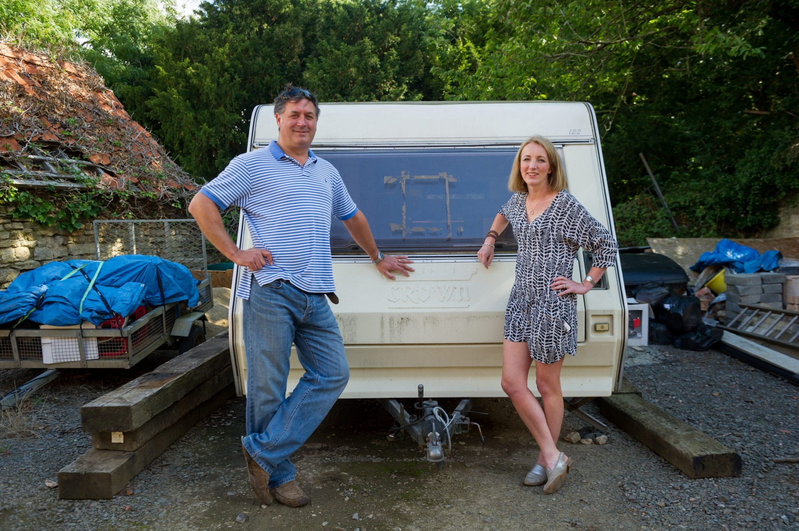 Find out why this old caravan has got everyone talking – and spending their cash
