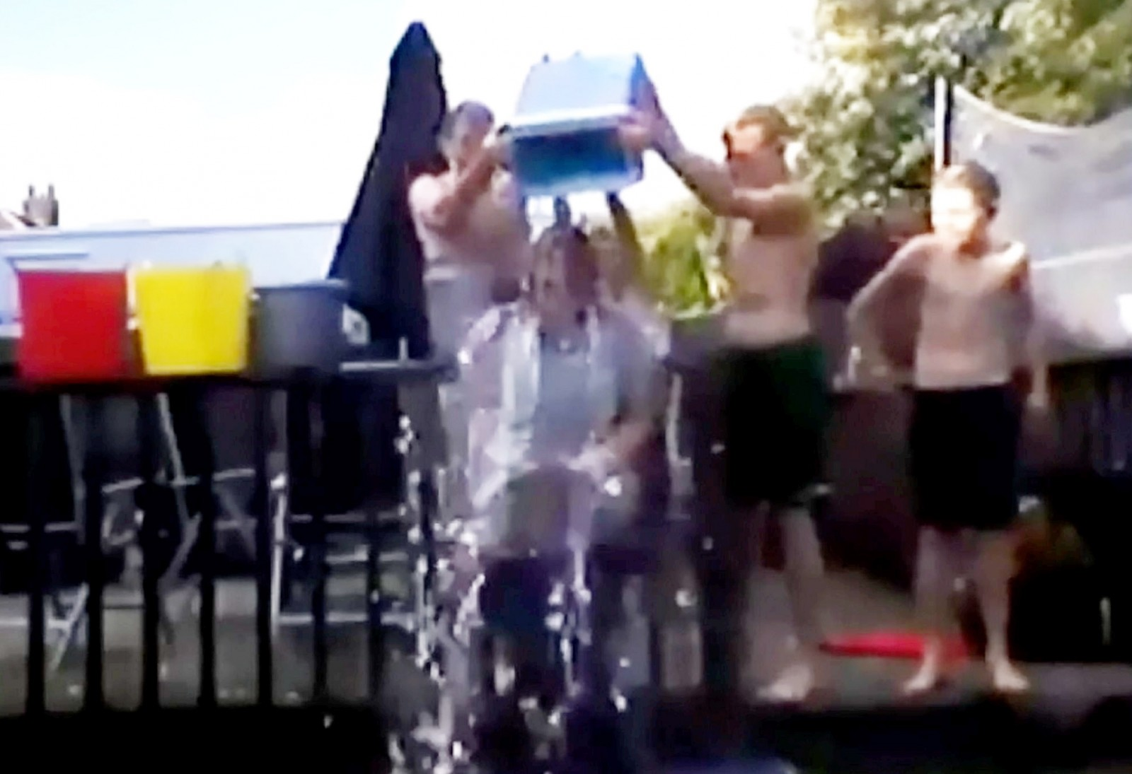 The ice bucket challenge with a totally unexpected outcome…