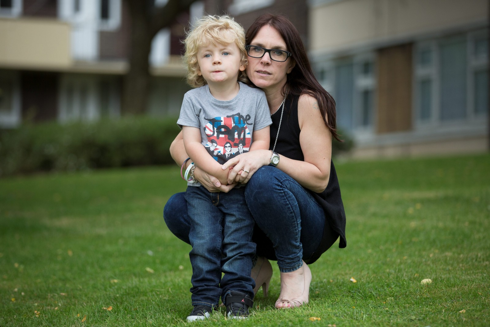 The three-year-old on a DIET. A mum's struggle to stop son from eating himself to death