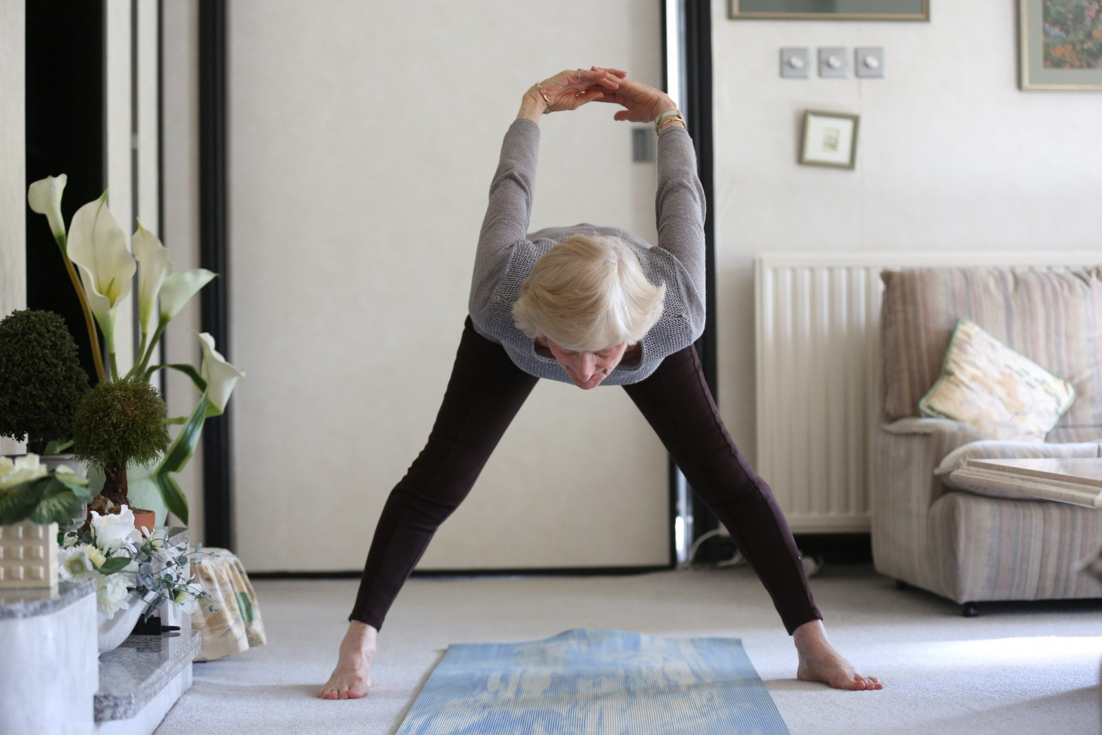 You'll never guess how old this yoga instructor is!