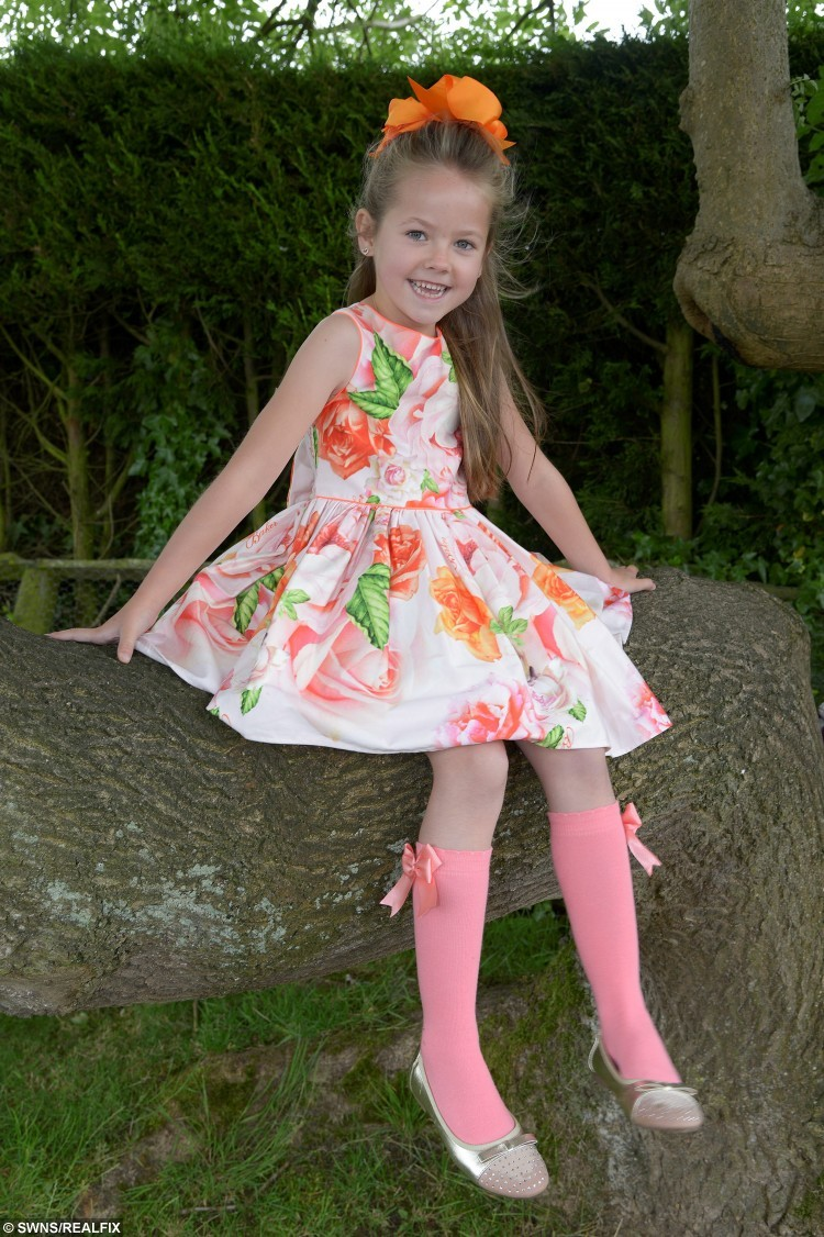 7-year-old diabetic Vanessa Lurkham from Ulrome to enter beauty show show to encourage others with the disease that they should not be afraid to show off their insulin pumps in public. See Ross Parry copy RPYDIABETIC : A young diabetic sufferer is determined not to let her illness get in the way of her ambition and will strut her stuff down the catwalk - wearing her monitor on her arm. Seven-year-old Vanessa Larkham is a type-one diabetic and became inspired by American beauty pageant winner Sierra Sandison who won her title while openly wearing her insulin pump. Vanessa, who has had diabetes since she was four, wants to show others with the condition that they should be proud of the equipment they wear. To do so she will appear at the Face of the Globe pageant held in nearby Scarborough, North Yorks., an event which also raises money for children's charity, The Rainbow Foundation.