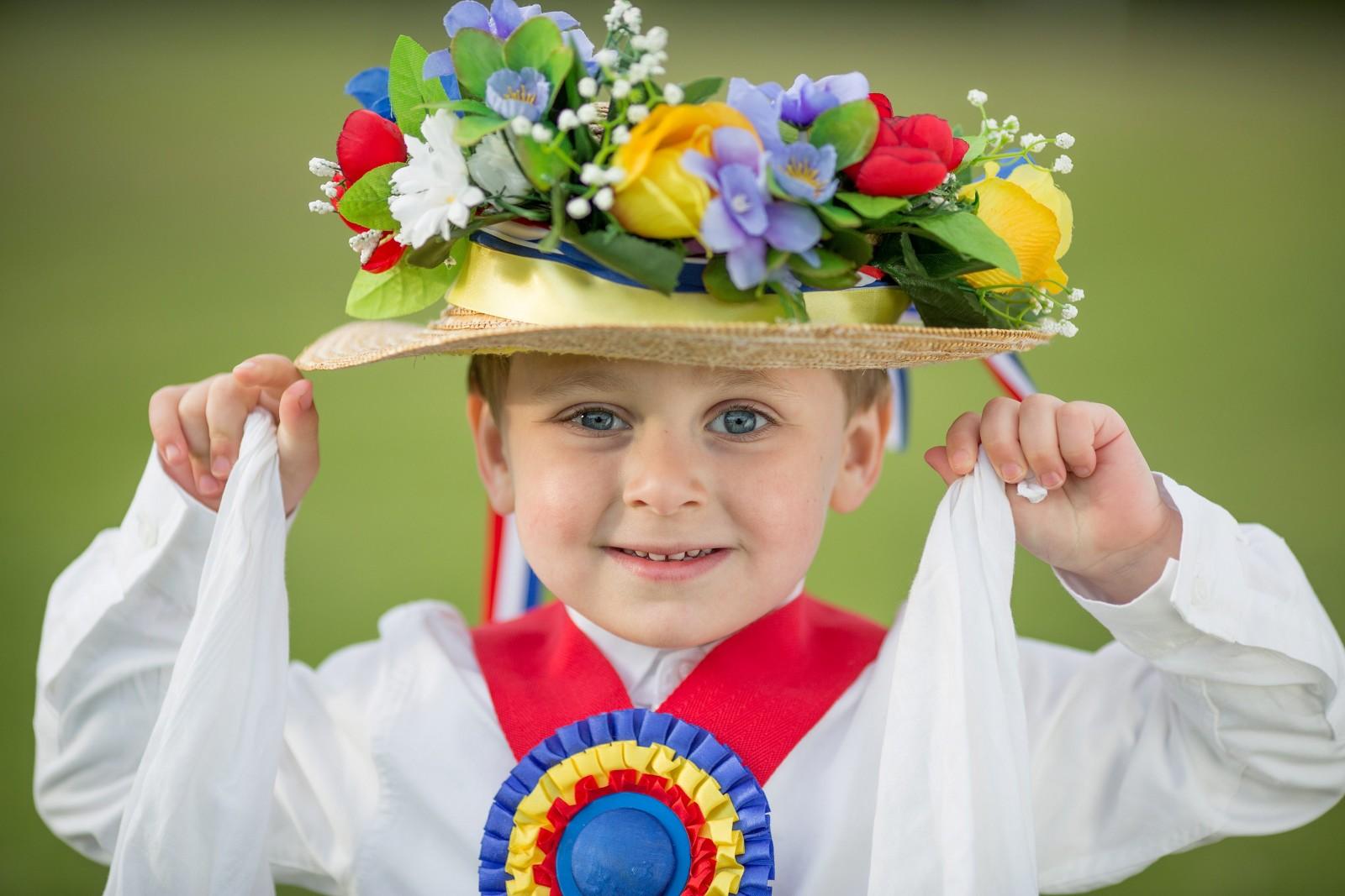 Meet Britain's youngest Morris Dancer