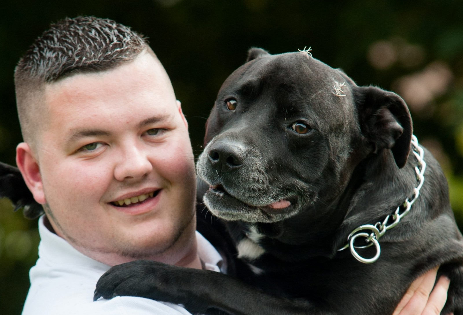 Owner devastated to have just days left with the dog that saved his life
