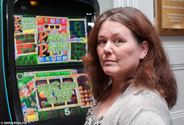 Tara Mooney who wasted Ã250,000 on fruit machines. See SWNS story SWBANDIT: A woman admits to ruining her entire life after she lost her home and family when she wasted Ã250,000 à on FRUIT MACHINES. Addicted Tara Mooney, spent up to 12-hours every day putting every penny she earned as a bus driver into the gambling machines. Tara, originally from High Wycombe, Bucks., has finally managed to kick her decade-long habit à after already losing her home and three children à when she was sacked for missing shifts. She said: ÃIt was dreadful. I spent all my wages on those machines, and I did it for ten years. ÃWhen you add it all up it comes to about Ã250,000, I think. ItÃs ridiculous when you think of it, but I was in the grip of a fierce addiction.Ã