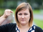 Young mum fined after dropping a piece of LETTUCE from her lunch!