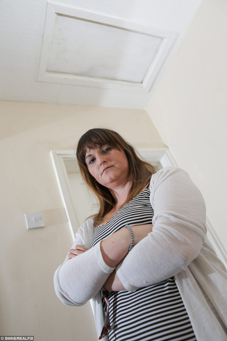 Marie's ex, Alex, sneaked into her house while she was out - and lived in her loft