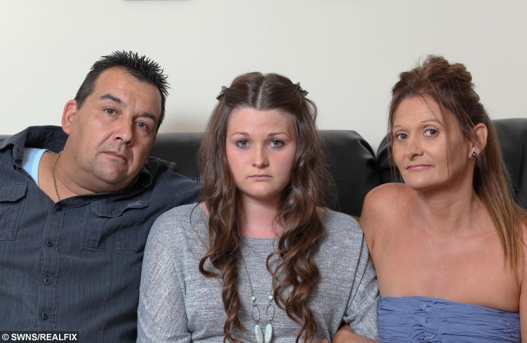 ***NO ONLINE USE BEFORE 3PM SUNDAY 2nd AUGUST*** Sharon and Anthony Cooper aged with their daughter Natasha aged 18 from Nuneaton, Warwickshire. When Sharon CooperÃs next door neighbour started becoming friendly with her 13-year-old daughter, Natasha, the mum of one thought it was harmless. Like most people, she wanted to have a good relationship with her neighbours and thought it was nice that William Brown aged 55, was taking an interest in them. Quickly, Brown, a mechanic, who was married with two kids aged 23 and 25, became a family friend and almost part of the family. He was invited over for dinners with his wife, and he would even take Natasha out walking the dogs. But last year 2014 mum Sharon discovered that Brown had in fact been sleeping with her underage daughter for three years. It wasnÃt until after daughter NatashaÃs 16th birthday that Sharon confronted sick Brown, who admitted he Ãfound it hard to keep his hands off young Natasha.Ã Just last month he was found guilty of four counts of underage sex with a minor and he was sentenced to three years in prison this week at Coventry Crown Court.  A family is trying to repair their lives after they befriended a neighbour only to discover he was grooming and sexually abusing their DAUGHTER. See SWNS story SWSICK;  Sick William Brown used their friendship to trick neighbour Natasha Cooper into thinking she loved him and first had sex with her when she was 14. It wasnÃt until the girlÃs 16th birthday that her mumÃs suspicion was aroused when she saw Brown cosy up to the teen in her garden in  Nuneaton, Warwickshire. The family this week spoke out about their neighbour after the mechanic was locked up for three years for grooming and abusing the girl.