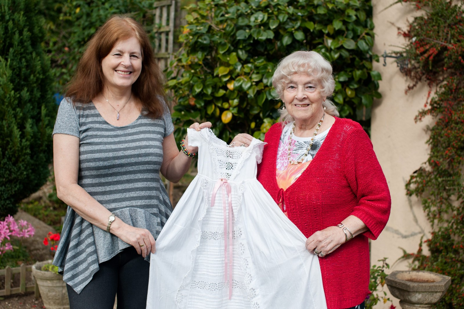 Secret of the pristine christening gown that's survived five generations