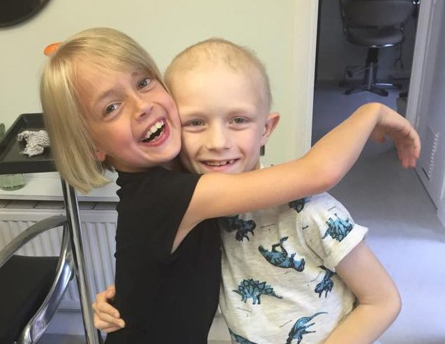 Real life Rapunzel cuts off her long blonde hair to help 'boyfriend' fight cancer