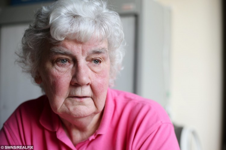 Margaret Bowler.  A grieving mum has slammed a callous council which slapped her with a Ã164 fine for turning up late to her son's burial.  See NTI story NTIFUNERAL.  Margaret Bowler, 78, and 260 mourners arrived 35 minutes late to lay Peter Bowler to rest after his funeral overran because so many people wanted to pay tribute to him.  The 43-year-old, from Carlton Hill, Notts., died last month after losing his battle with a rare muscle-wasting disease called myotonic dystrophy.  Peter's funeral service was held at 12.15pm on August 29 at St Paul's Church in Carlton, Notts., before the cortege made its way to Carlton Cemetery - half a mile away.  It arrived 35 minutes late for the 1.30pm burial and Gedling Borough Council said the delay meant extra staff had to be provided as cover for another funeral at nearby Redhill Cemetery.  After the funeral Margaret - who set up the national Myotonic Dystrophy Support Group in 1985 after Peter's diagnosis - was shocked to hear the council was demanding money from the bereaved.