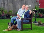 Husband diagnosed with dementia after caring for wife with same condition for over 30 years