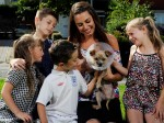 The dog that survived being hit by a TRAIN and a family's extraordinary lengths to find him