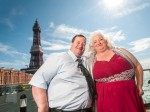 'Too fat to work' couple celebrate weight loss by renewing wedding vows