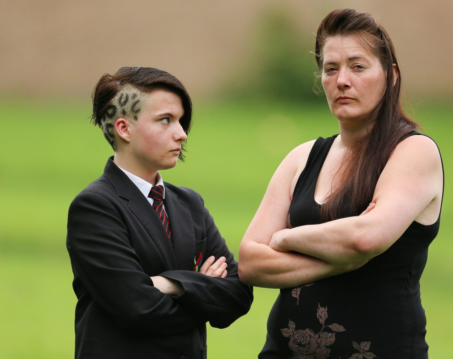 Right or Wrong? Pupil sent home from school for having leopard-print hairs