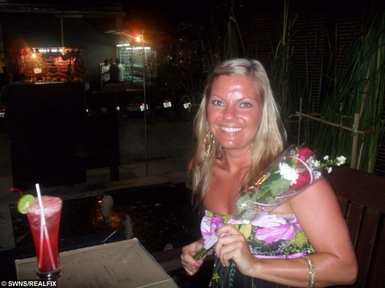 Picture shows Jo Irving, in 2011 on holiday in Thailand.See Ross Parry Copy RPYSKIN  Jo, 31, noticed she had a pearly lump at the side of her nose which never seemed to heal. At first, she didnt really think much of it, but after a couple of years it started bleeding and wouldnt go away. On a post-natal check after giving birth to son Ryley, two, Jo mentioned the blemish to the doctor in passing. He suggested Jo should get it checked out at Clifton Hospital, but she pushed it aside for another few months, still not thinking much of it. When she finally did book herself in for an appointment in April last year, she was in for quite the shock - the blemish turned out to be skin cancer.