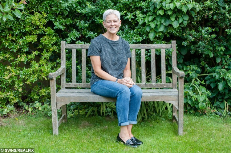 """Becky Peabody, 44, poses for a portrait at home in Street, Somerset, England. September 10 2015. Peabody lost weight after seeing a picture of herself in Ideal Home Magazine.  See swns story SWMAG. Designer Becky Peabody, 44, was delighted when Ideal Home magazine asked to feature her Victorian home. But she was mortified at how her 15 stone figure looked in the issue and was shamed into changing her fat-filled diet.Three years on Becky runs three times a week and swapped her baggy size 18 clothes for a stylish new size eight wardrobe. She said: """"I've always been overweight and always been on a diet of some kind, but when a picture of myself was printed in Ideal Home magazine for the all to see, I was nudged into taking action. """"One of my proudest moments, having my house featured in a glossy magazine, was dulled by the embarrassing photo of myself staring back from the pages. """"My mother was showing the photo to the world, and what should have been a lovely moment was 'oh my god, I look horrendous'. """"I knew I had to do something."""""""
